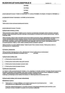 Download: Mallikustannussopimus B, sähköinen